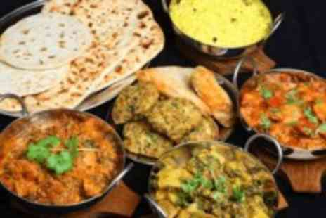 Mumbai Mansion - Three course Indian lunchtime banquet for two - Save 70%
