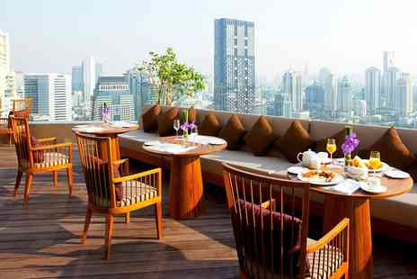 Anantara Bangkok Sathorn - One night 5 Star Hotel with Upgrade & Rooftop Cocktails - Save 34%