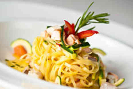 Osteria del mercato - Classic Italian Dining and Glass of Wine for Two - Save 50%