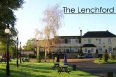 The Lenchford Inn - Two Night Getaway For Two With Three Course Meal, Early Check In and Late Check Out - Save 69%