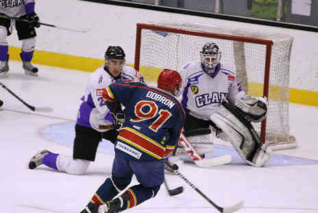 EIHL Edinburgh Capitals - Tickets to EIHL Edinburgh Capitals for One  - Save 52%