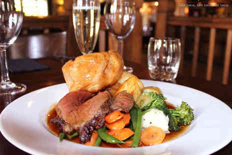 The Duke of Portland - Two Course Sunday Lunch with Prosecco for Two - Save 59%