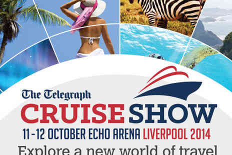The Telegraph Cruise Show - Ticket to The Telegraph Cruise Show - Save 55%