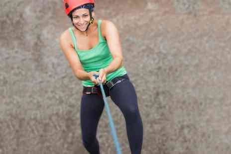 Rock and Ice - Abseiling or Weaseling Experience - Save 59%
