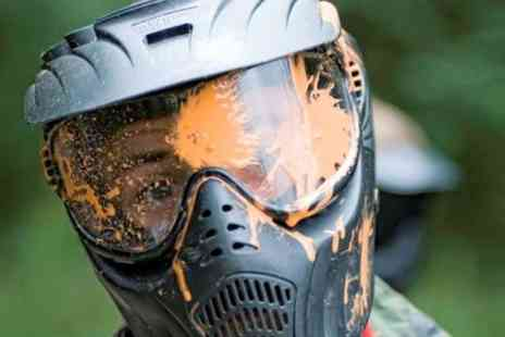 Skirmish Paint Ball -  Paintball Play With 100 Paintballs For Five - Save 93%