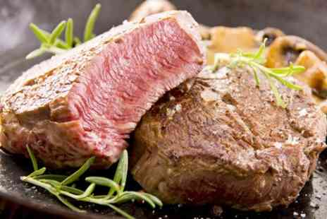 Rope Works Sunderland - Sirloin Steak Meal and Cocktail Pitcher For Two - Save 56%