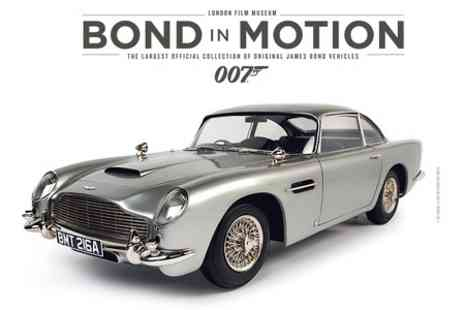 London Film Museum -  Entry to Bond in Motion at the London Film Museum - Save 21%