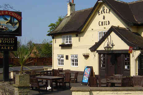The Eagle and Child - £30 worth of food - Save 50%