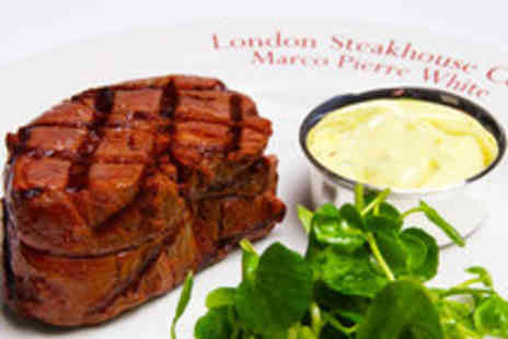 Kings Road Steakhouse & Grill -  Three Course Dining with Cocktails for Two - Save 46%