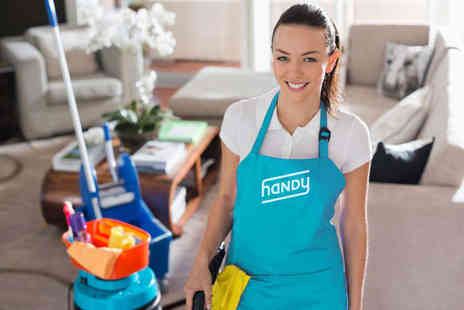 Handy - Two Hours of House Cleaning - Save 50%