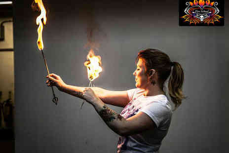 The Fire School - Two Hour Fire Eating Workshop - Save 51%