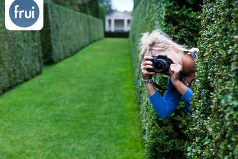 Frui - Three Hour Beginners DSLR Photography Course for One - Save 68%