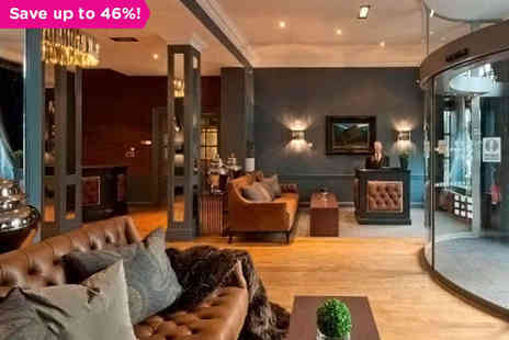 The Roxburghe - The Jewel in Edinburghs Glittering Crown - Save 46%