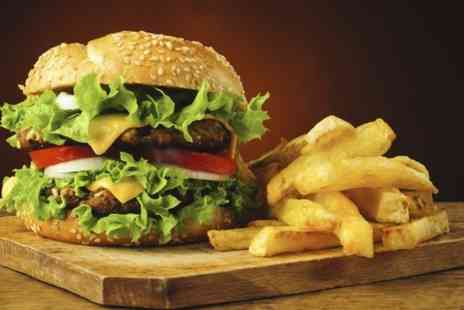 Poets Corner - Burger and Beer For Two - Save 52%