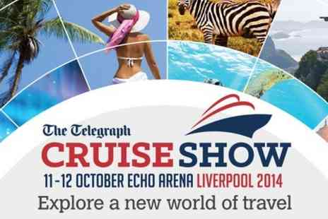 The Telegraph Cruise Show - Entry to The Telegraph Cruise Show With Guest Speakers Including Alan Hansen  - Save 50%