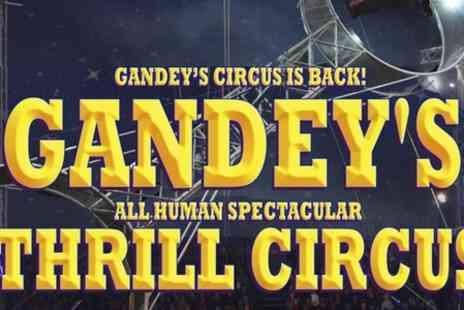 Gandeys International - Ticket to Thrill Circus Admission to Brierley Hill Show  - Save 59%