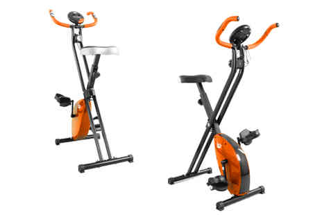 W R SPORTS - X Bike Folding Exercise Bike - Save 23%