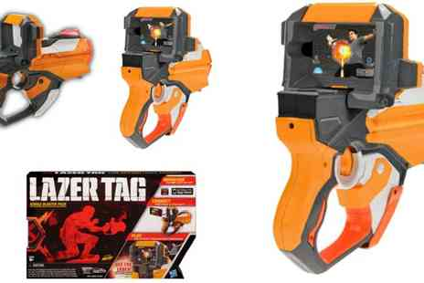 Plaspac - Lazer Tag Blaster Game - Save 18%