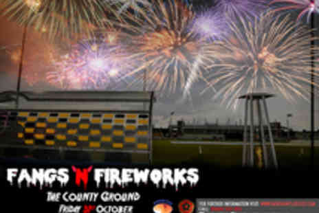 Northants Cricket - Family Entry to Fangs n Fireworks - Save 33%