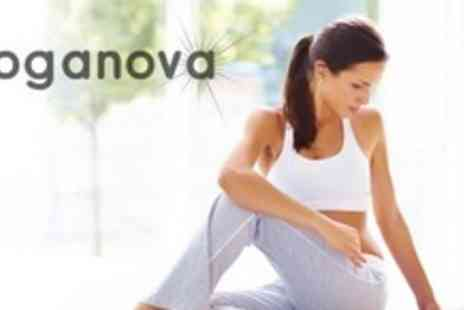 Yoganova - Six Sessions of Kundalini or Candlelight Yoga For Two - Save 64%
