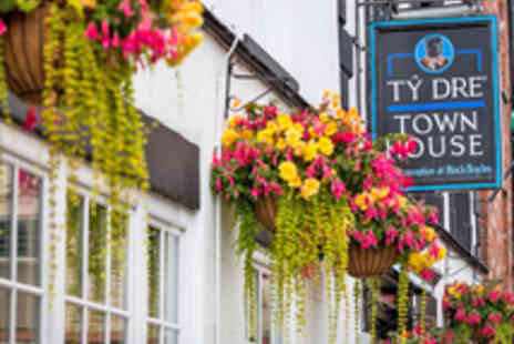 The Black Boy Inn -  Two Night Dining Getaway in Historic Welsh - Save 47%