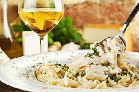Fazzi - Pizza, Pasta or Risotto With Wine For Two  - Save 62%