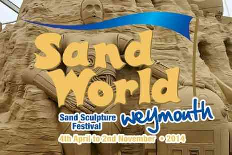 Sand World - Entry to Sand World - Save 15%