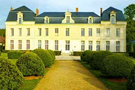 Le chateau de Courcelles - One Night  Stay For Two With 1 Michelin Star Tasting Menu  - Save 50%