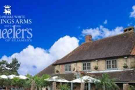 The Kings Arms - One Night Stay For Two With Three Course Meal - Save 56%