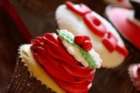 Angel Cakes - Christmas Cupcake Decorating Class for two - Save 50%