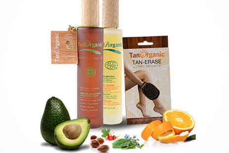 Ultimate Tanning Essential  - Three Piece TanOrganic Bundle with Included Delivery - Save 58%