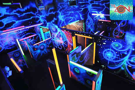 The Zone - Two Games of Laser Tag Each for Two - Save 50%