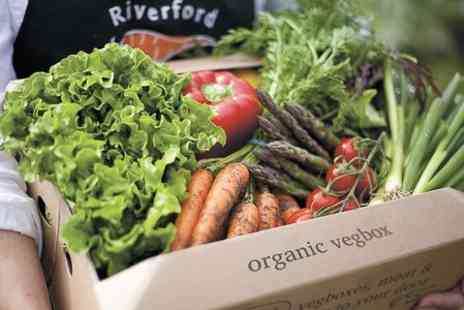Riverford Organic - First Three Medium Vegetable Boxes  - Save 53%