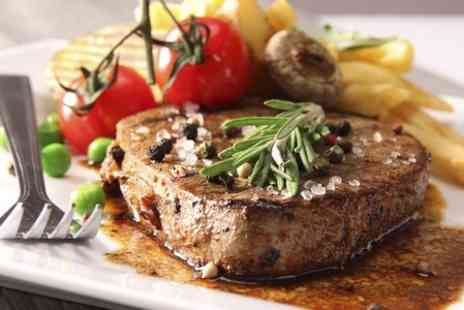 LSTRADA - Two Course Sirloin Steak Meal For Two - Save 58%