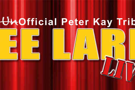 Weetwood Hall - Christmas Party Night with Peter Kay tribute tickets plus dinner - Save 50%