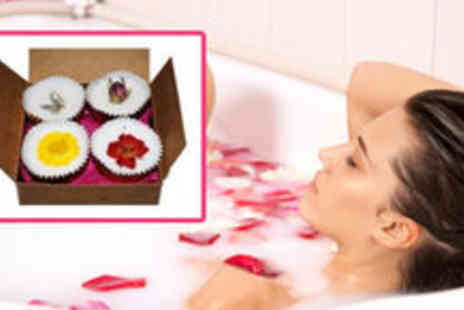 Health Cocoon - 4 Luxury Homemade Shea and Cocoa Butter Bath Melts - Save 84%