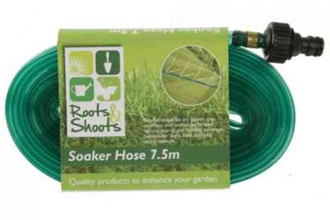 BW Group - Soaker Hose 7.5m x 0.5in  - Save 36%