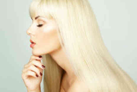Bounce Hair and Beauty - Cut and Blow Dry with Keratin Treatment and Additional Highlights Options - Save 59%