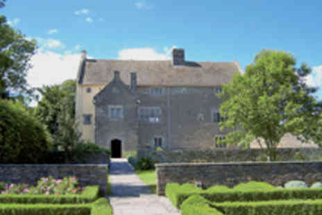 Caerphilly CBC - 16th Century Llancaiach Fawr Manor with Festive Afternoon Tea for Two - Save 42%