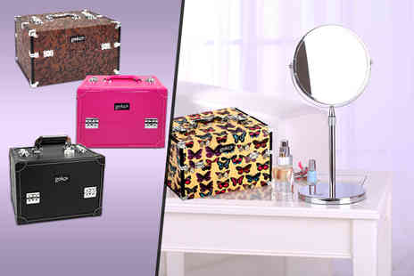 Geko Products - Large stylish vanity case - Save 57%