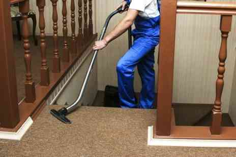 Supreme Clean - Carpet Cleaning For Hall and Stairs - Save 53%