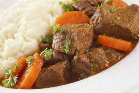 The Angel - Steak and Ringwood Ale Stew For Two  - Save 50%