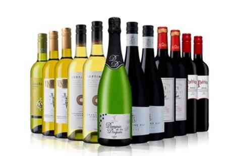 Laithwaites Wine Merchants - 12 Bottle Case of Red, White or a Mix of Wines, Plus Wine Plan Membership  - Save 55%
