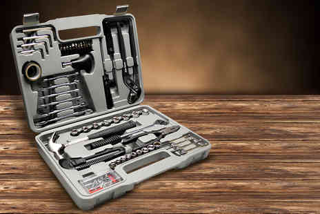 Flostream - 141 piece tool kit including handy grey carry case  - Save 40%