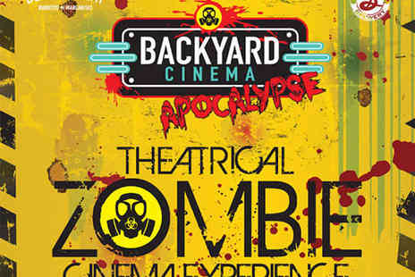 Backyard Cinema - Ticket to Backyard Cinema Apocalypse with Antidote Cocktail - Save 28%