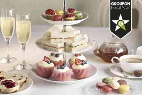 Bar Zero - Afternoon Tea With Bubbly For Two - Save 56%