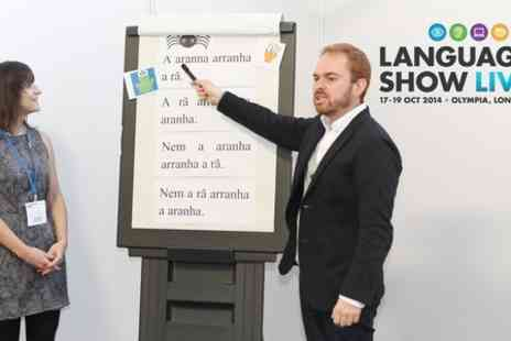 Language Show Live - Three Hour Language Plus Class - Save 40%