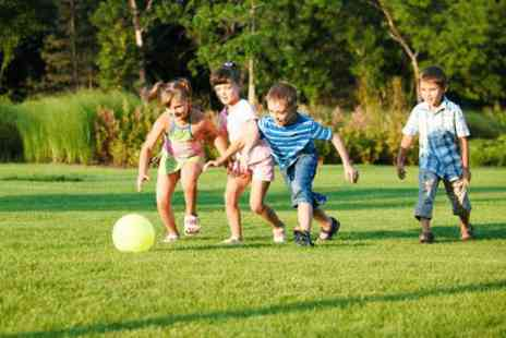 Games at the gate - Full day kids sports and activities holiday camp - Save 50%