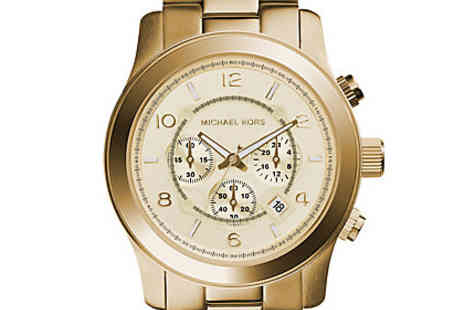 Sydney Trading - Mens Gold Chronograph Watch - Save 48%