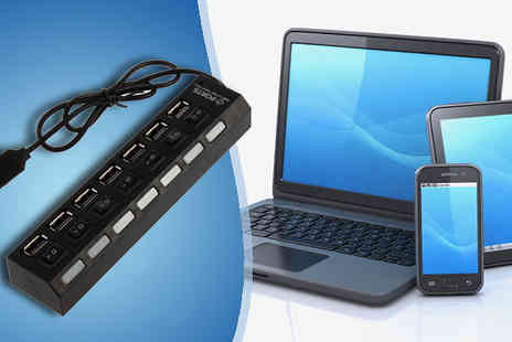 My Avarice - Nifty 7 Port USB Hub Adapter - Save 65%